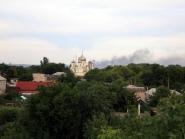 Во время боя под Александровском