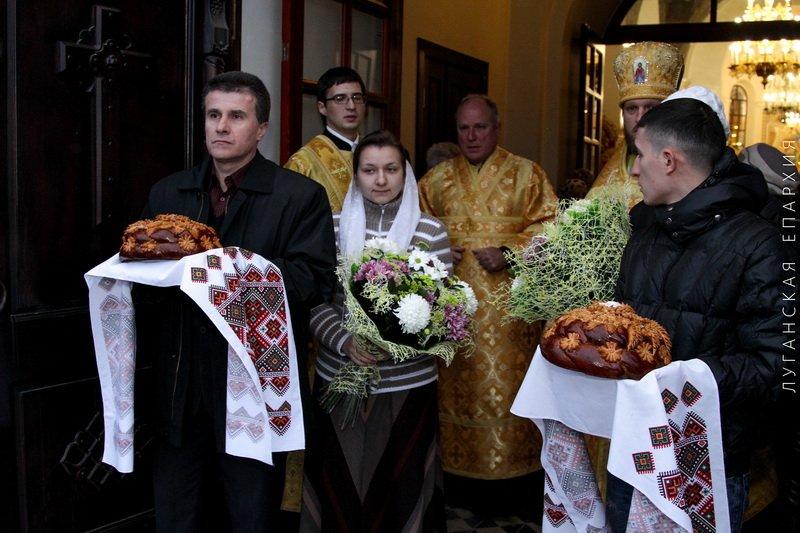 День рождения Владыки Митрофана, г.Луганск, 19.11.2015 | 1