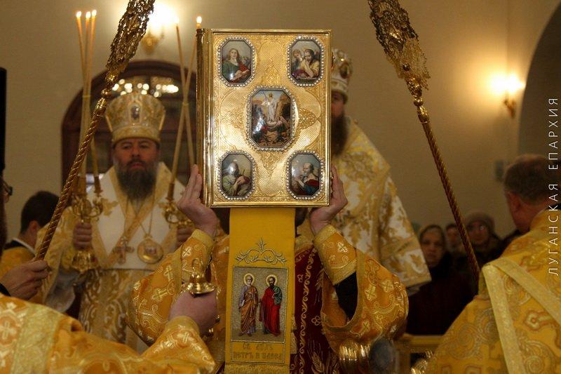 День рождения Владыки Митрофана, г.Луганск, 19.11.2015 | 8