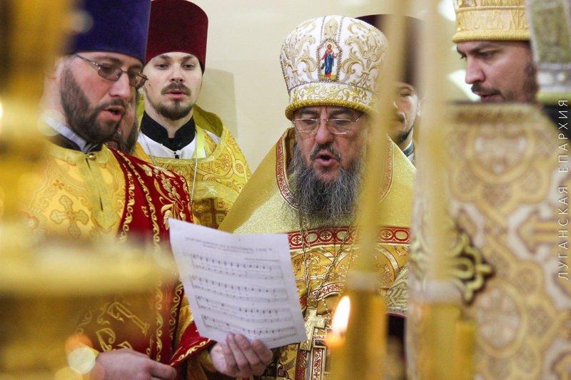 День рождения Владыки Митрофана, г.Луганск, 19.11.2015 | 13