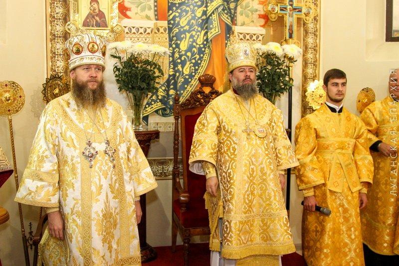 День рождения Владыки Митрофана, г.Луганск, 19.11.2015 | 15