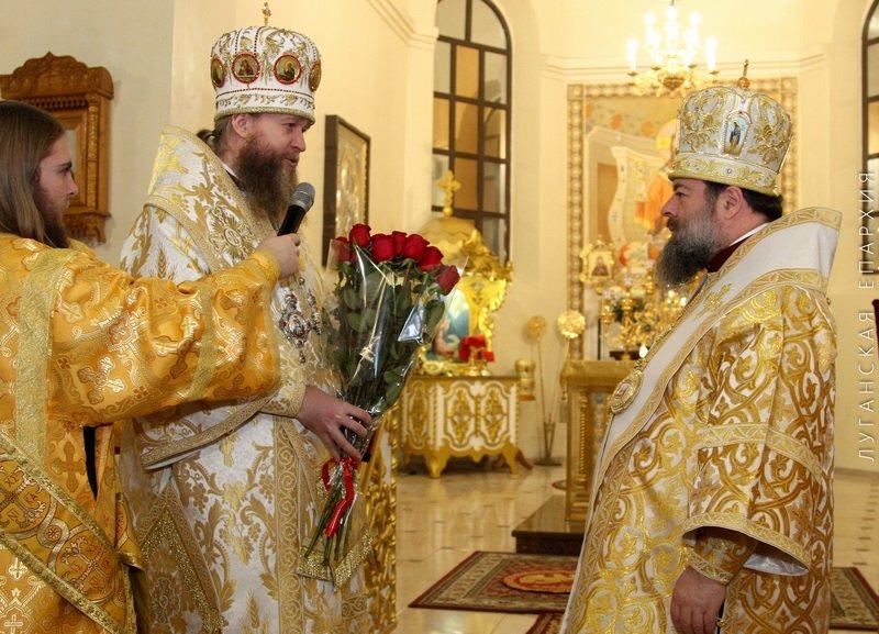 День рождения Владыки Митрофана, г.Луганск, 19.11.2015 | 30