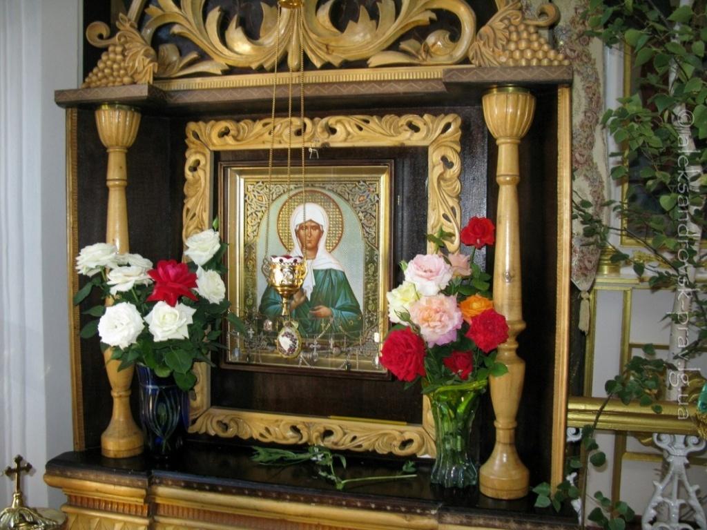 Икона святой блаженной старицы Матроны Московской