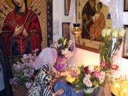 Престольный праздник в храме в честь Иверской иконы Божией Матери с.Долгое, 26.10.2013_26
