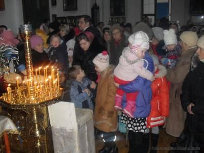 Rozhdestvo-Xristovo Aleksandrovsk 7-Jan-2016 17