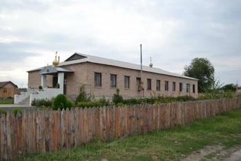 Современный вид Свято-Успенского храма в с.Желтое