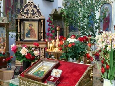 Святой мученик Трифон - небесный покровитель храма