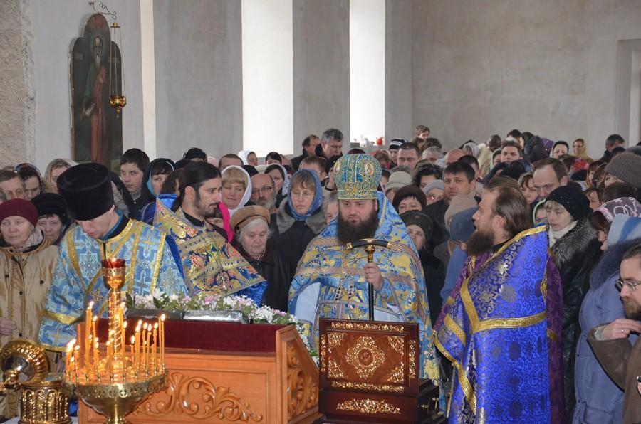 Престольный день Свято-Вознесенского строящегося мужского монастыря с.Хорошее