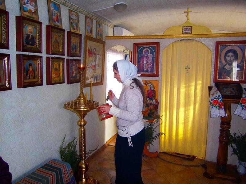 Храм преподобного Серафима Саровского, Екатериновка