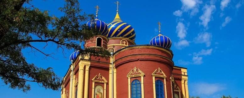Престольный праздник в храме Архидьякона Стефана, Славяносербск, 15.08.2013
