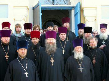 Духовенство Александровского благочиннического округа