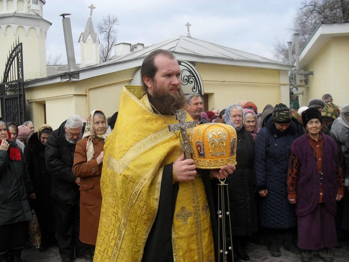 Протоиерей Дмитрий Шершун, клирик Свято-Вознесенского храма, г.Александровск