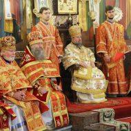 Праздничное Богослужение в Свято-Владимирском кафедральном соборе, 19.05.2016