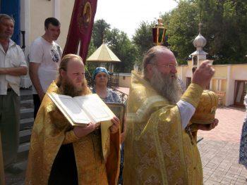 Крестный ход в Свято-Вознесенском храме, 28 июля 2016 г.