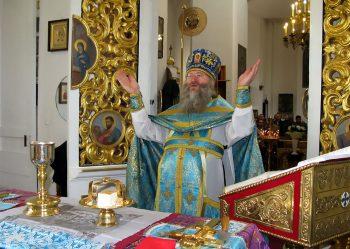 Благочинный Александровского округа настоятель Свято-Вознесенского храма протоиерей Иаков Лобов