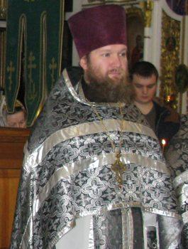 Клирик Свято-Вознесенского храма, прот. Дмитрий Шершун