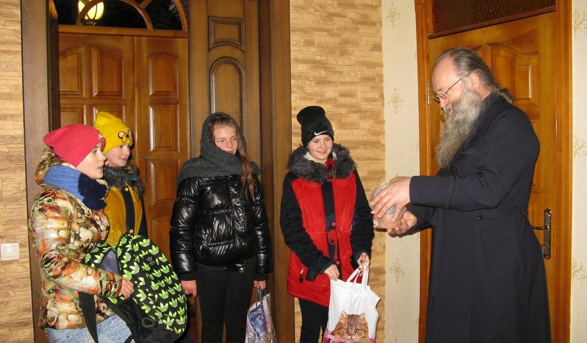 Навечерие Рождества Христова в Александровске, 6 января, 2017 г.