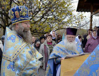 Престольный праздник в честь Иверской иконы Божией Матери в с. Долгое