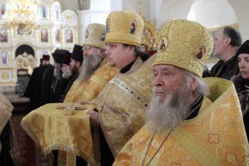 В Свято-Петропавловском кафедральном соборе г.Луганска. 26.02.2017
