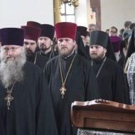 Чин прощения в Свято-Петропавловском кафедральном соборе г.Луганска