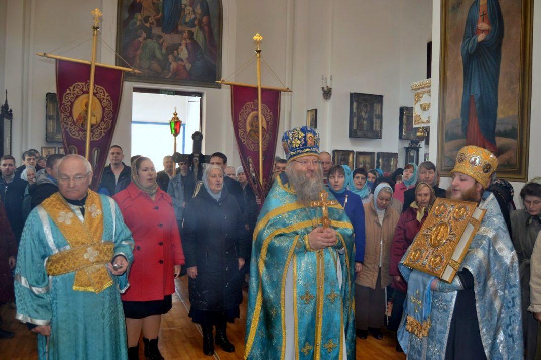Престольный праздник Благовещения в Свято-Вознесенском храме