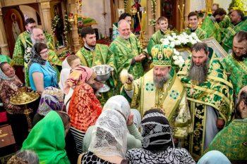 Престольный день храма святой блаженной Ксении Петербургской