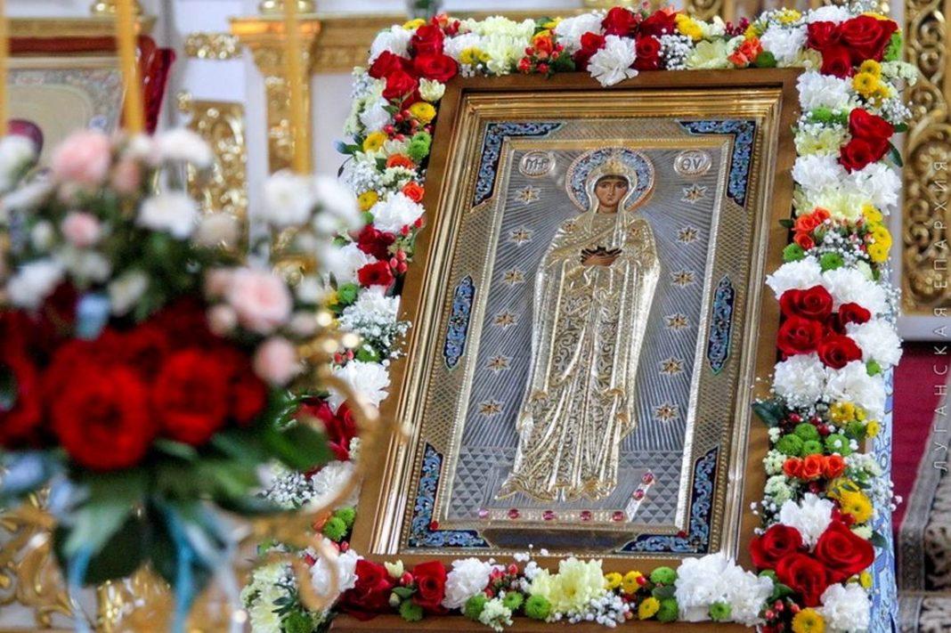 Торжества в честь иконы Божией Матери Луганской