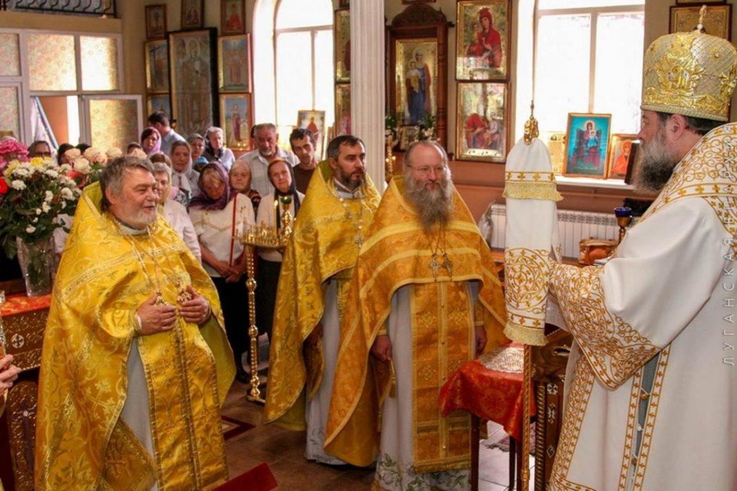 Престольный праздник храма Всех святых, 18.06.2017