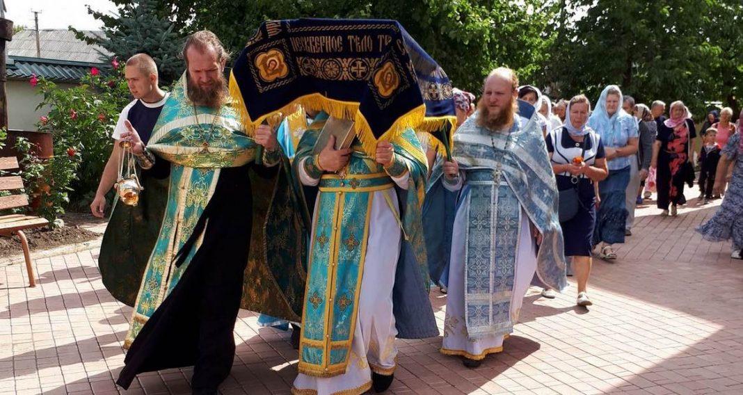 Праздник Успение Пресвятой Богородицы, г.Александровск
