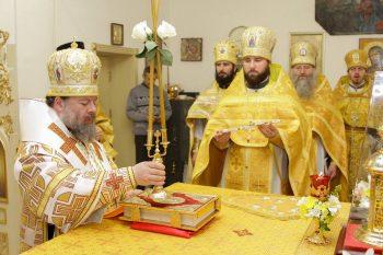 Престольный праздник в Свято-Андреевском храме, 13 декабря 2017 г.