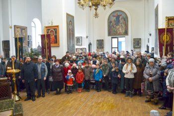 Рождество Христово, Свято-Вознесенский храм, 7.01.2018