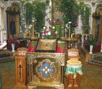 День Святой Троицы. Свято-Вознесенский храм, 27.05.2018