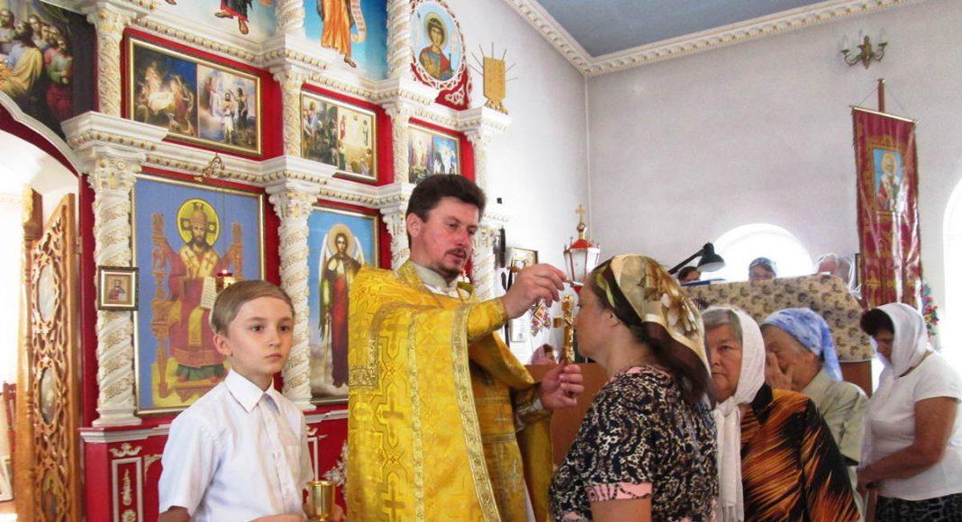 Богослужение в честь святых апостолов Петра и Павла (12 июля 2018) в пгт. Родаково
