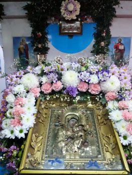В храме Иверской иконы Божией Матери. пос. Екатериновка, Луганская епархия