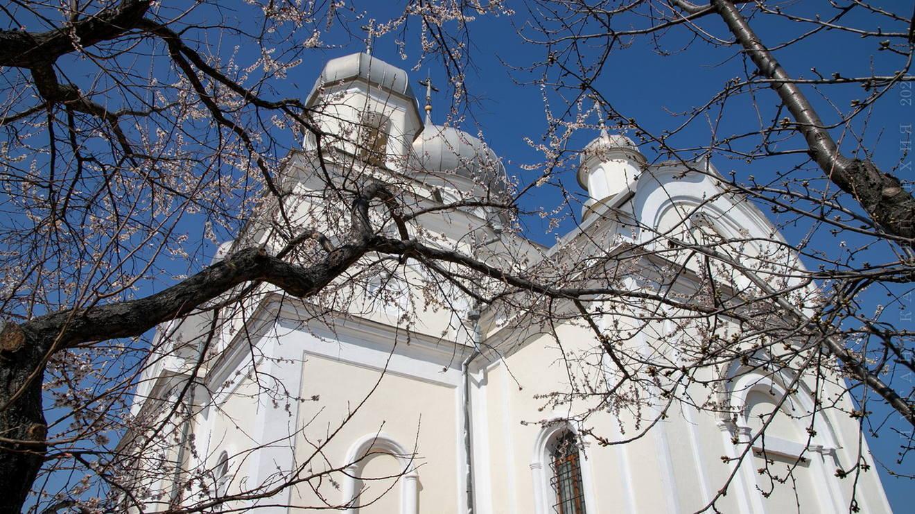 Соборное служение литургии Преждеосвященных Даров. Александровск, 3 апреля 2020 г.