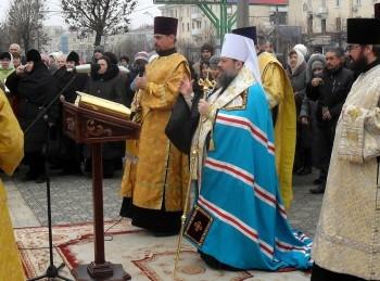 Речь Владыки Митрофана по окончании торжественного соборного молебна