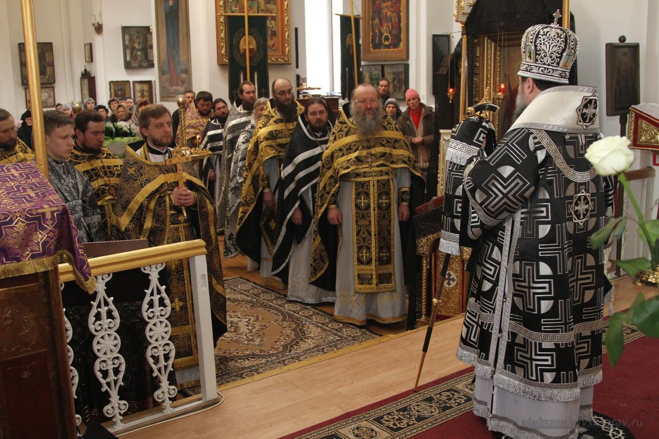 Архиерейское Богослужение в Свято-Вознесенском храме, г.Александровск