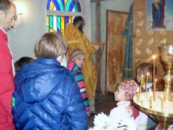 Престольный праздник в Свято-Александро-Невском приходе г.Александровска