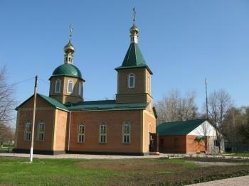 Храм святого апостола Андрея Первозванного, посёлок Фрунзе, Луганская епархия