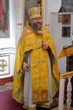 Проповедь настоятеля Свято-Вознесенского храма протоиерея Иакова Лобова