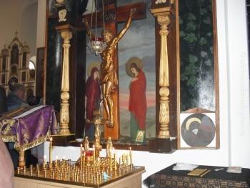 На Кресте Господь-Спаситель усыновил и Пресвятую Божью Матерь, и нас всех Ею усыновил