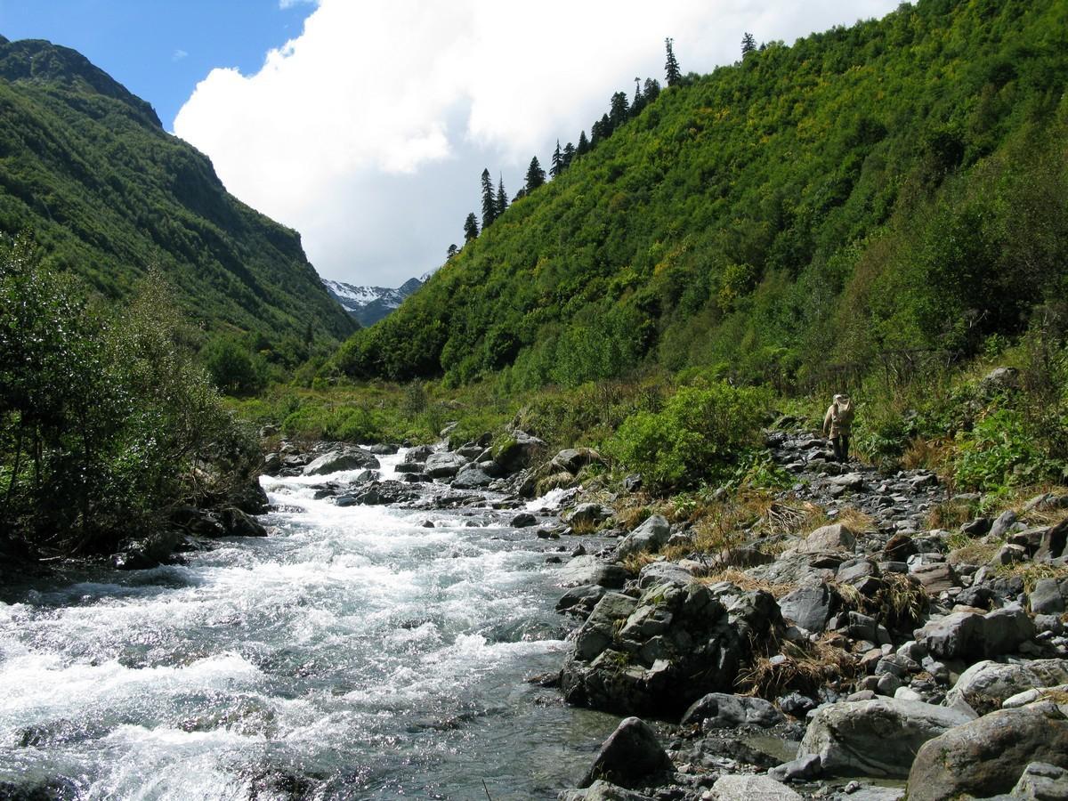 Кавказ - Карачаево-Черкесия, кислые целебные источники