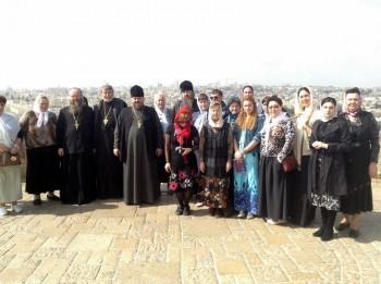 Луганская паломническая группа на Святой Земле