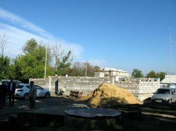 Начато строительство типового храма в пос. Металлист