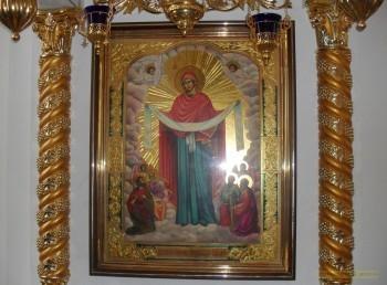 Покров Пресвятой Богородицы. Икона Свято-Вознесенского храма