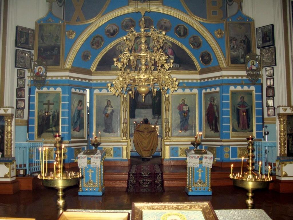 Свято-Покровский храм, с.Трёхизбенка