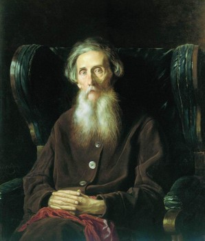 Портрет Владимира Ивановича Даля. Худ. В. Перовъ 1872