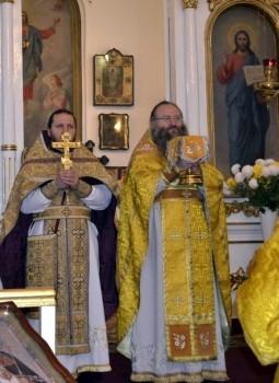 Престольный праздник в честь Святителя Спиридона Тримифунтского, 25.12.2013