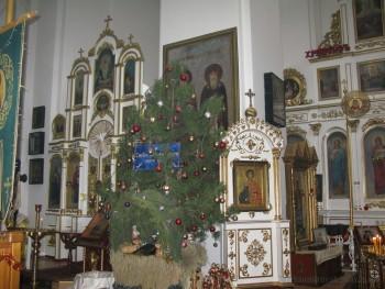 Рождество Христово. Александровск, 7-01-2016