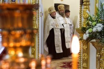 Великая вечерня в Свято-Петропавловском кафедральном соборе